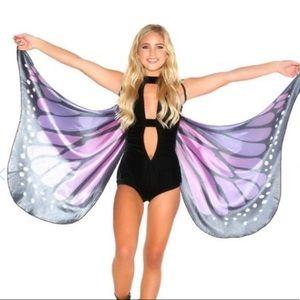 iheartraves purple butterfly wings